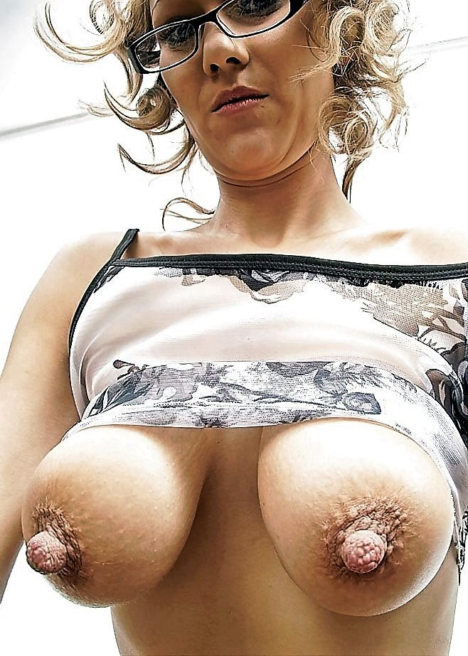 Mature erect nipples