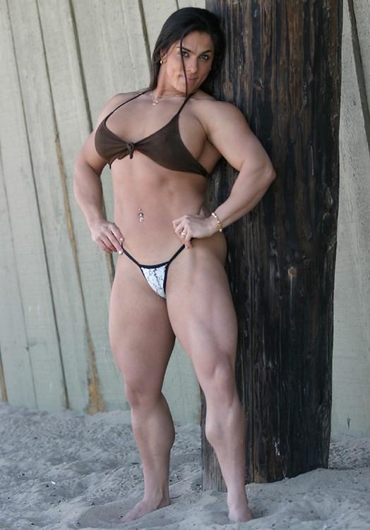 nude bodybuilder Luciana andrade