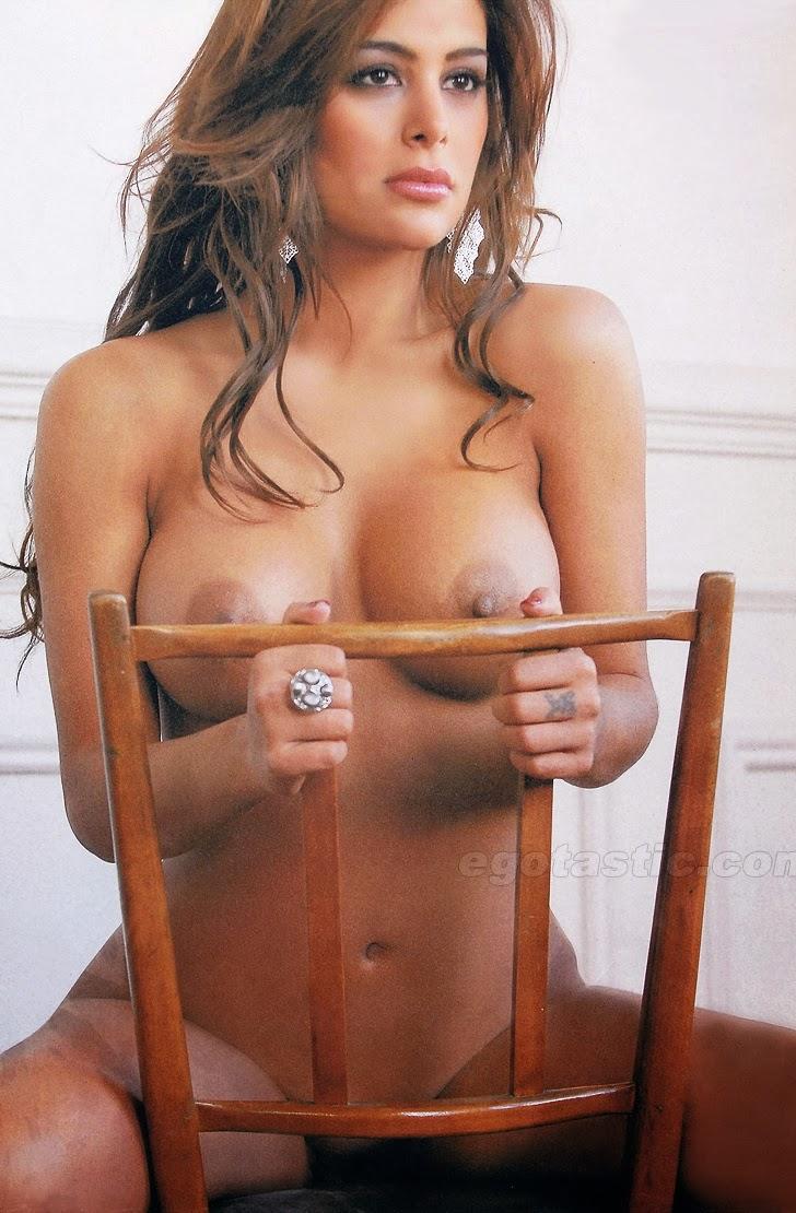 Brazilian nude model