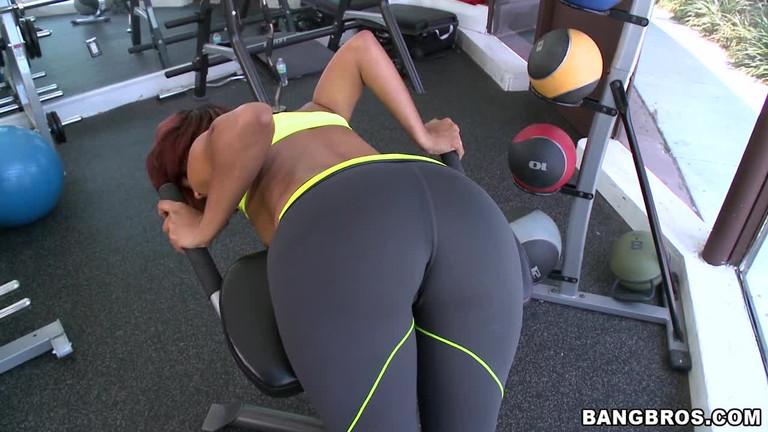 Redhead milf sucking big black cock