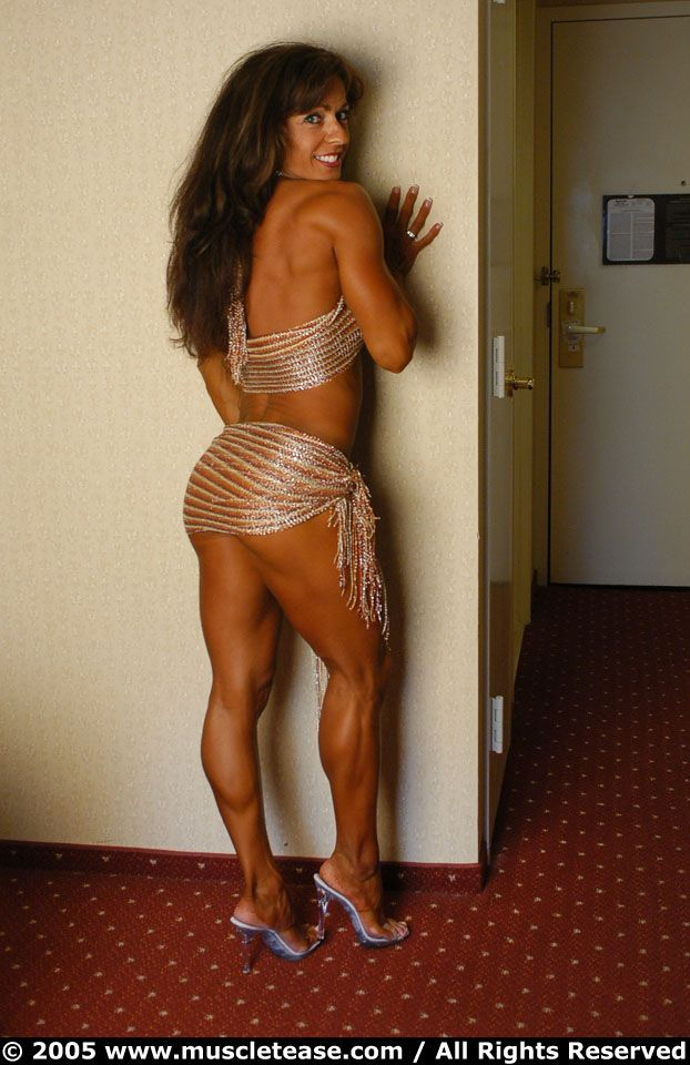 Busty muscle fitness sex