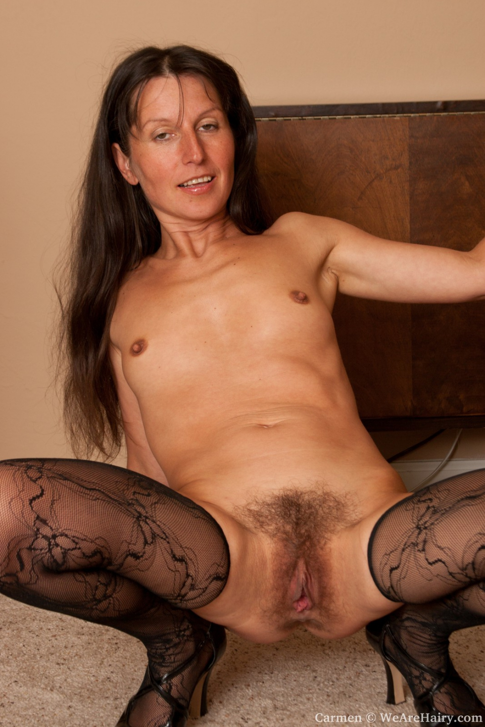 Hairy nude older women for free