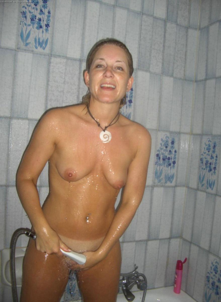 Naked girls pooping on men