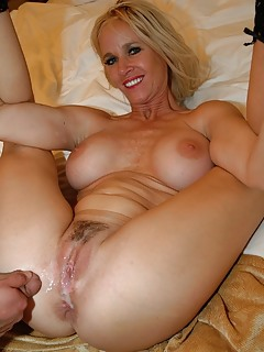 Milf wife creampie captions
