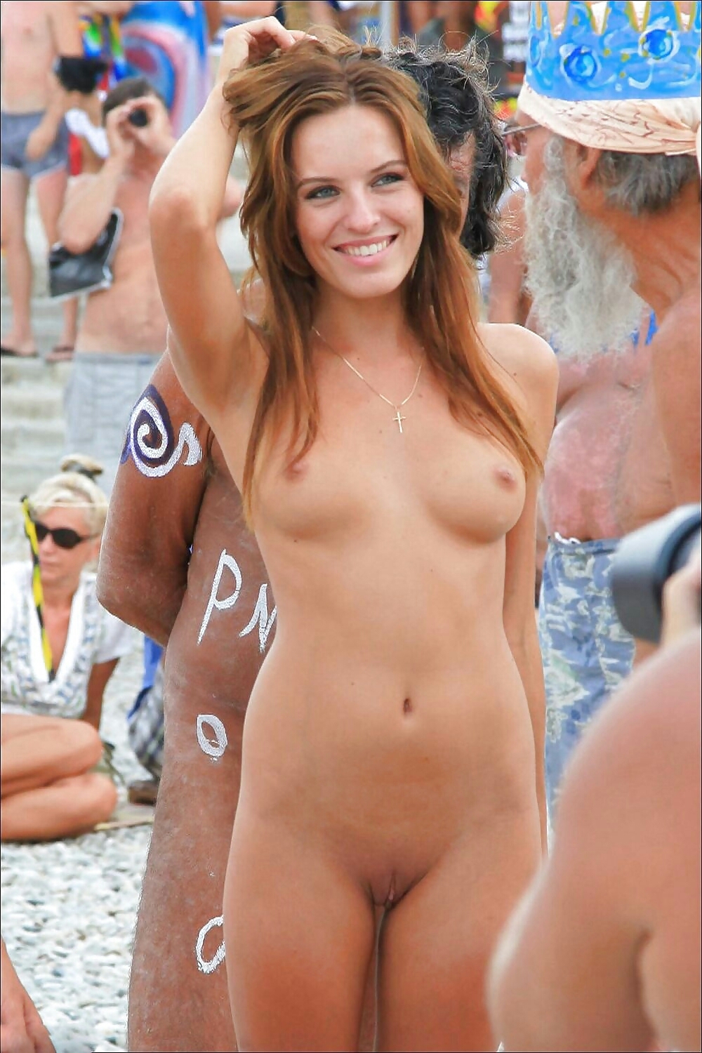 Naked women beach parties remarkable