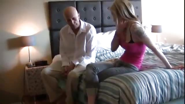 hot blonde in wet pussy juice thong