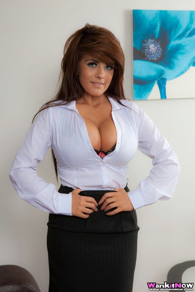 tits Blouse big