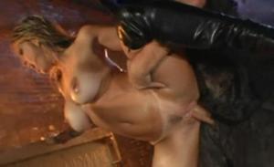 Hot brunette nude oral sex