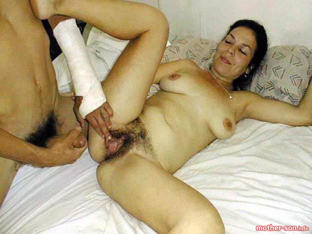 vintage nude mom son