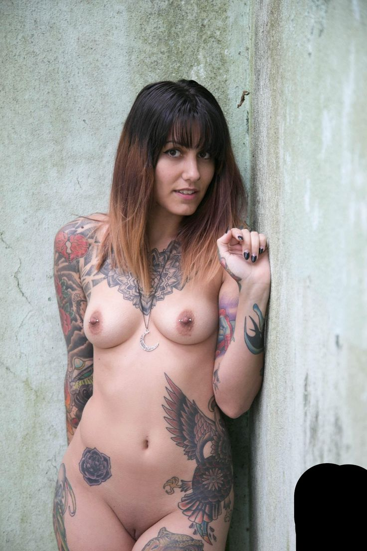 Nude Asian Girls With Tattoos--3409