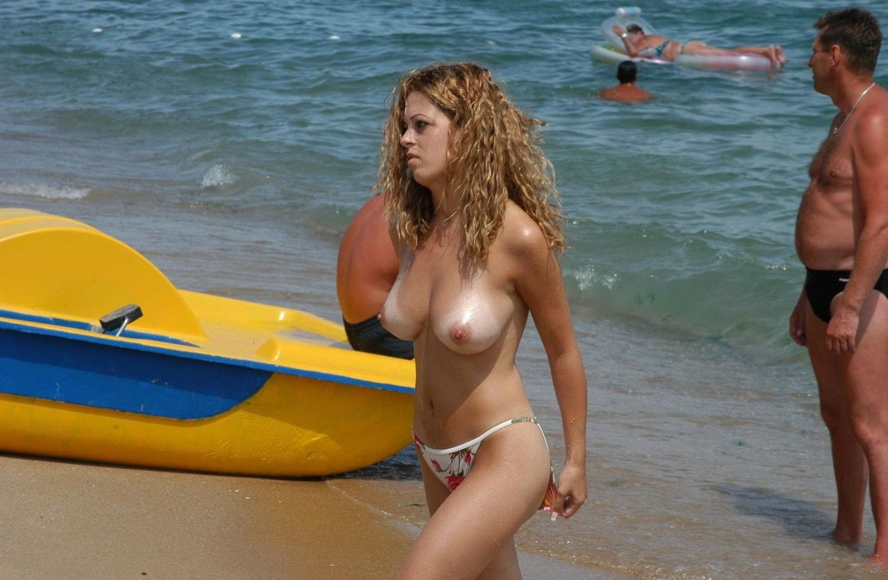 nudist beach mature