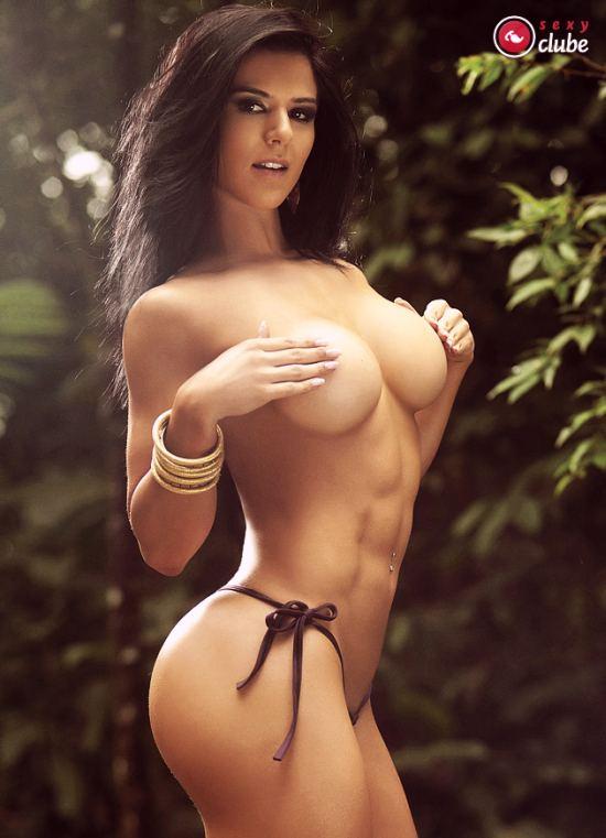 Extreme bikini model