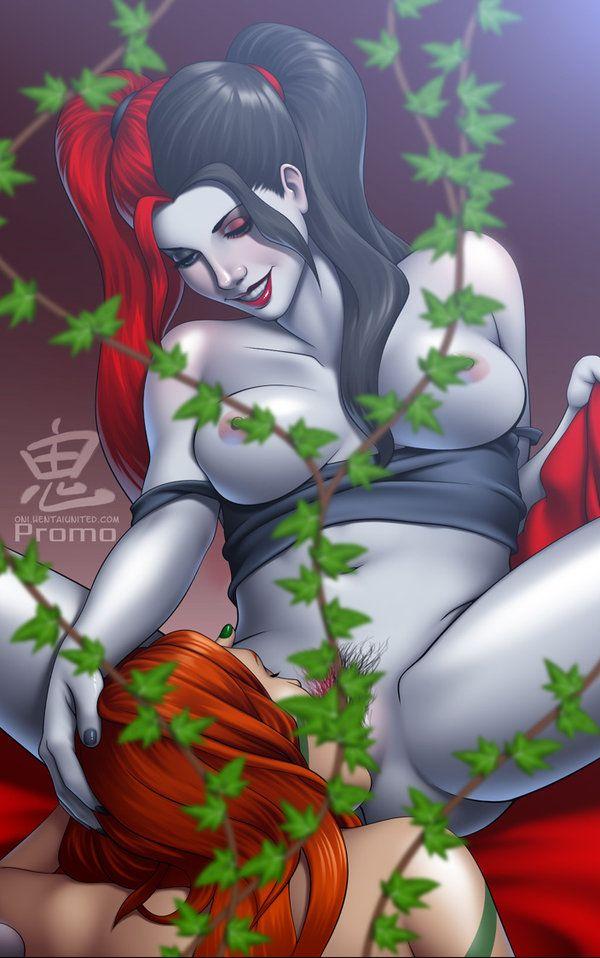 Vagina in poison ivy