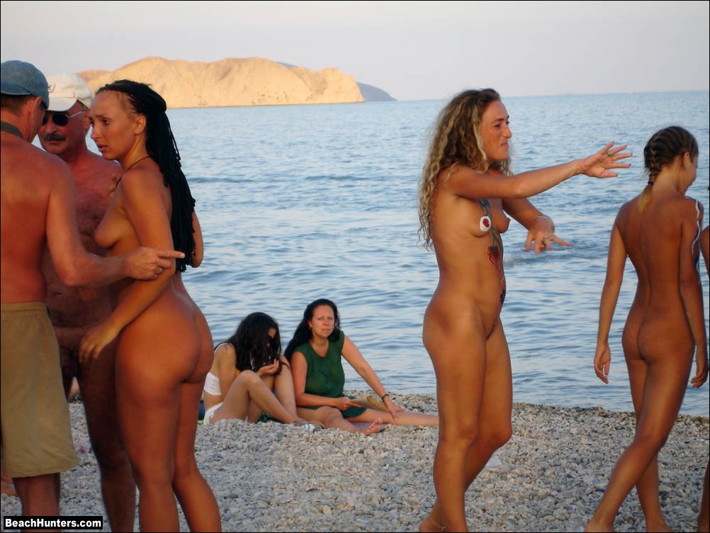 Russian Nude Beach Porn--7589