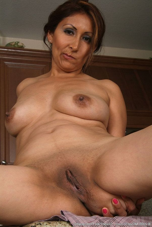 Naked son and Mexican mom