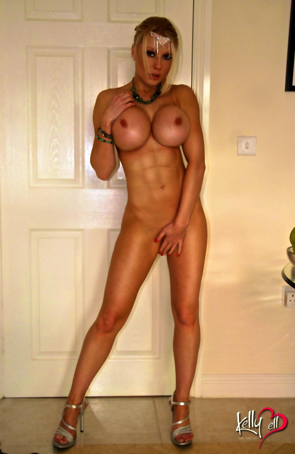 Hot naked girls ass close up
