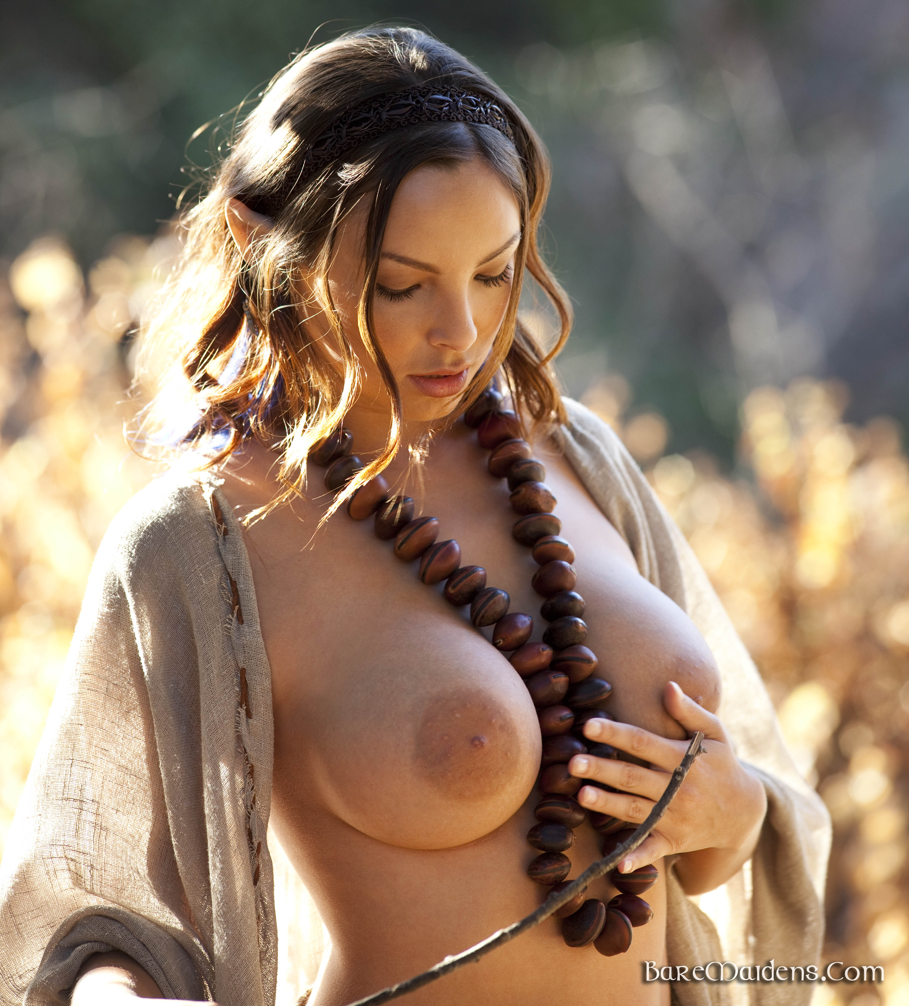 Handjob on nude beach