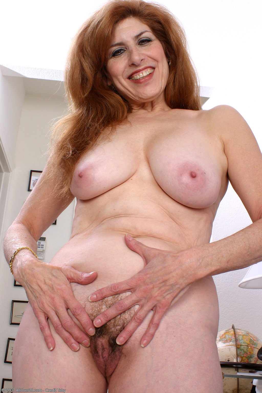 Not clear. Naked mature busty white women your place