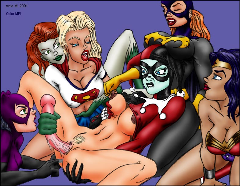 Supergirl And Wonder Woman Porn