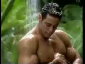 sexy boob with transparent sari