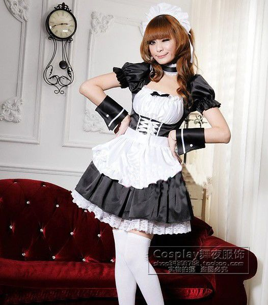 french maids nude and seducing