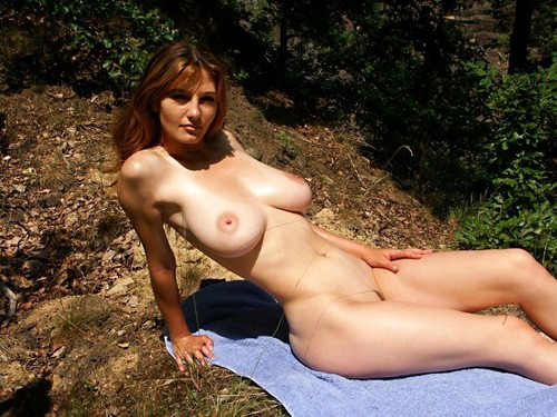 Perfect nubile brunette pussy