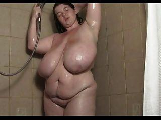 Erotic female anal exam
