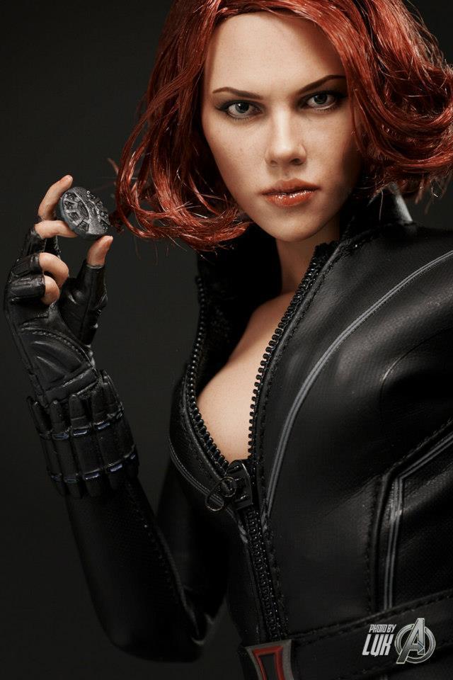 Porn Scarlett widow johansson black
