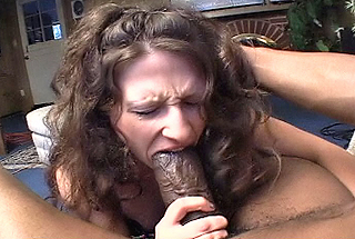 Matute lady sucks a huge dick