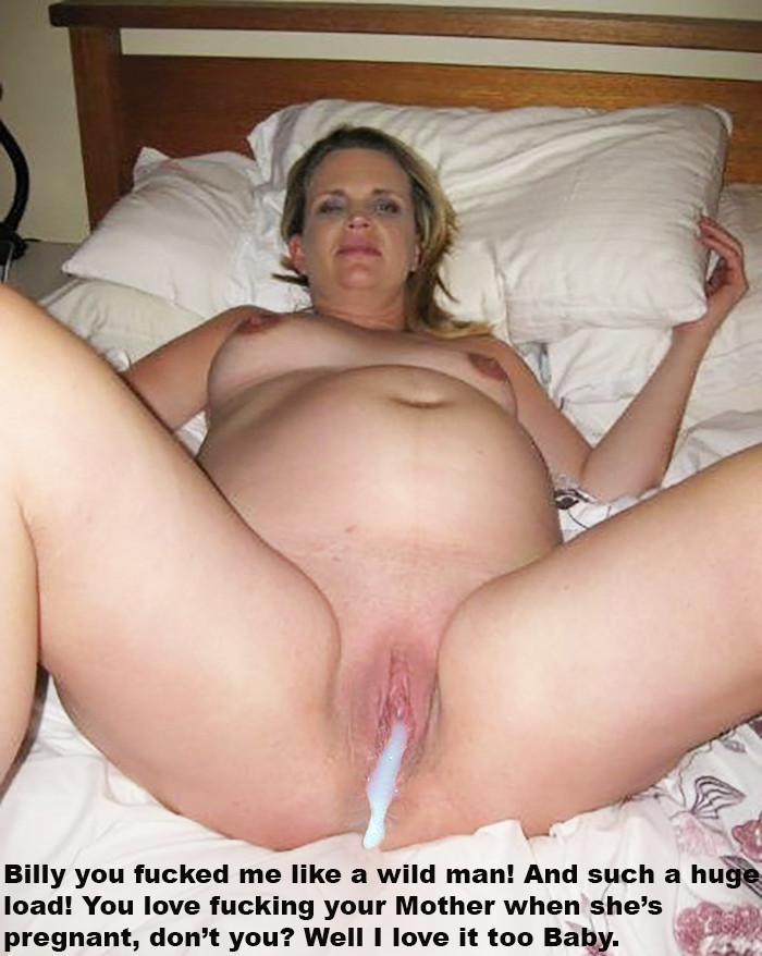 Mom creampies