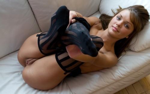Plus size fetish lingerie models