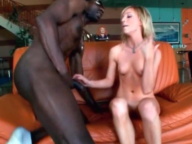Big black long monster on blonde porn