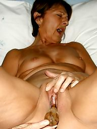 Wife teaching neighbor husbond blow job