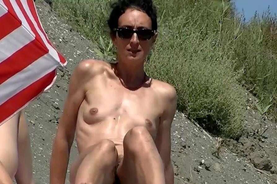 Girl toying asshole