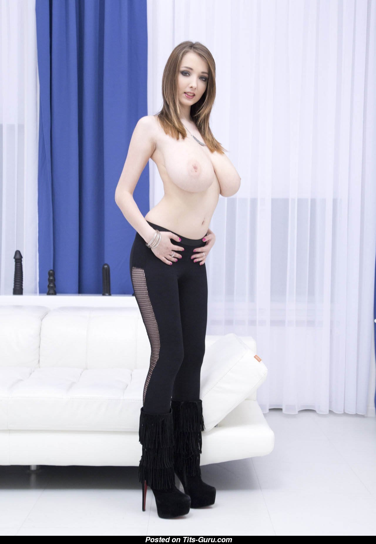 Pantyhose stepmom video