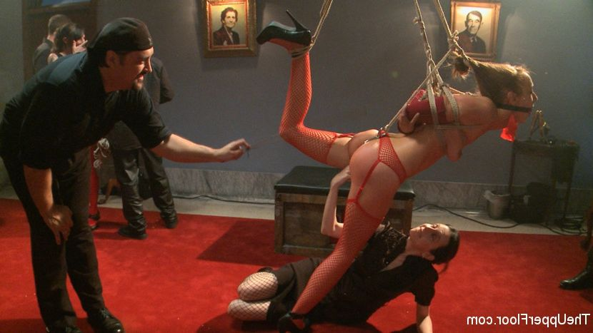 Redhead fireplace masturbating