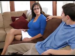 Office moms threesome