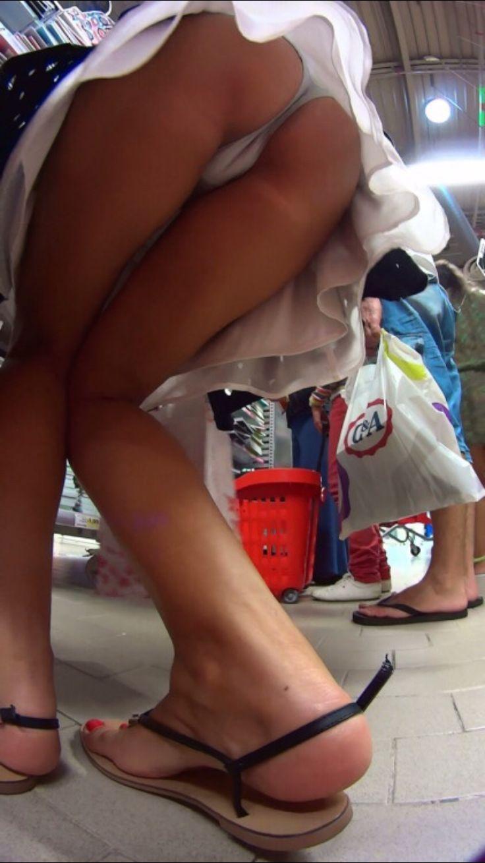 Panties no Creepshot upskirt