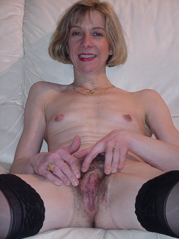 Hairy blonde pussy big nipples down! What